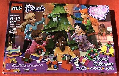 NIB LEGO Friends Advent Calendar 41353 NEW In Box