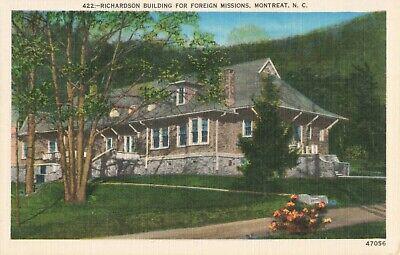 Richardson Building (Postcard Richardson Building Montreat North Carolina)