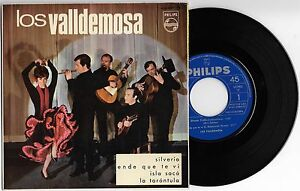 LOS-VALLDEMOSA-SPAIN-7-034-EP-Philips-1966-Spanish-Folk-Mallorca-Silverio-3