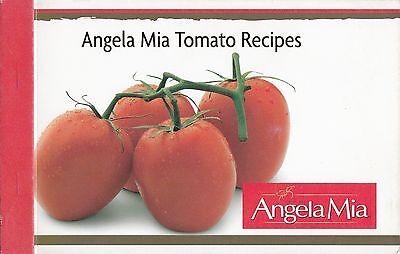 Angela Mia Tomato Recipes Cookbook Cuban Pork Chops  Fire Roasted Quesadilla
