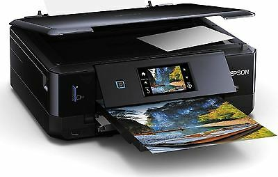 New Epson Expression Photo XP-760 All-In-One Printer Wi-Fi Direct/Touch Panel