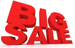 ALL GARAGE DOORS ON SALE ............. END OF YEAR SALE!!!!!!!!