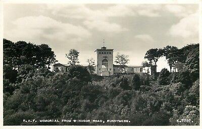 s09558 RAF Memorial, Runnymede, Surrey, England RP postcard unposted
