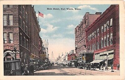 1917 Stores Main St. Fort Worth TX post (Fort Worth Stores)