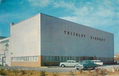 1954 Thieblot Aircraft Company  Martinsburg Airport  West Virginia Postcard
