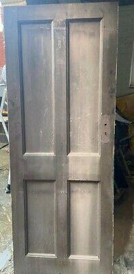 Victorian Four Panel Internal Door - Three Available
