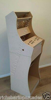 BARTOP+PEDESTAL ARCADE MACHINE 2 PLAYER DIY FLATPACK KIT RASPBERRY PI / MAME