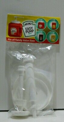 Heinz Easy Assembly Pump For Ketchup Mustard Brand New