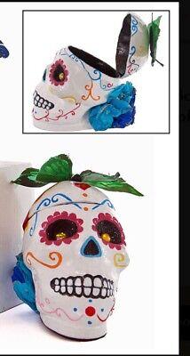 Katherine's Collection Halloween Frida Love Skull Box Display White NEW](Frida Halloween)