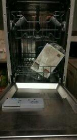 Intergrated CDA Slimline Dishwasher