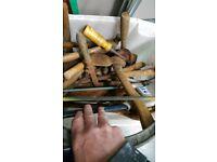 old wooden handtools