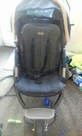 3 wheeler pushchair