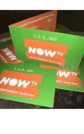 Now TV Box 6 Month Entertainment Sky Pass Digitally Delivered Code Stream UK