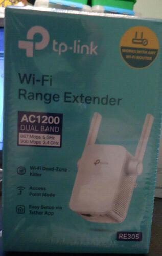 TP-LINK AC1200 Wi-Fi Range Extender (Model #RE305)