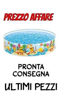 PISCINA FUORITERRA RIGIDA ROTONDA 122 x 25 CM INTEX ART 58477