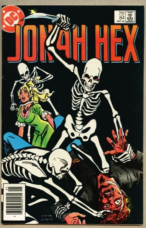 Jonah Hex #84-1984 vf 8.0 First appearance of Adrian Sterling / Ed Hannigan
