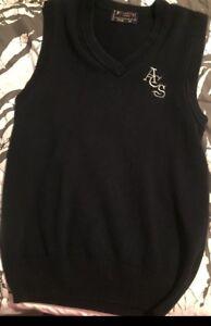 Looking for v neck assumption vest