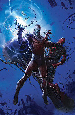 Astonishing X-Men 3 Mattina Virgin Variant Venomized Magneto Spider-Man LTD 600