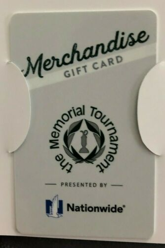 Memorial Tournament 2020 Merchandise Card Credit July 13-19 $20 Value