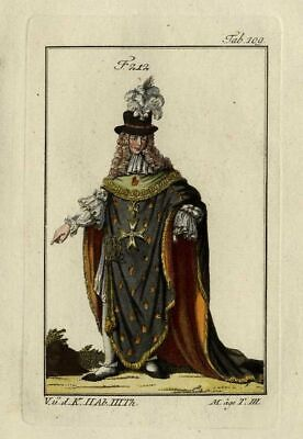 Kostüm Ritter von der Orden des Heiliger Geist - Drucken Aquarell Xixé - Der Geist Kostüm