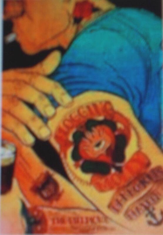 FLOGGING MOLLY Fillmore Poster MAXEEN Danko Jones BGF717 CHUCK SPERRY Maxeen