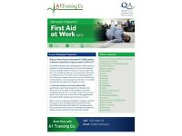 Regular Paediatric First Aid courses