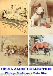 Cecil-Aldin-Collection-Vintage-Colour-Illustrated-Books-on-Data-Disc-PDF-Files