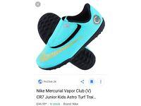 Infants football boots ronaldo's