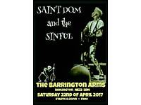 Rockabilly Band : Saint Dom and the Sinful
