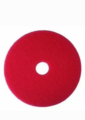 3m Red Buffer Pad 5100 20 Floor Buffer Machine Use Case Of 5new