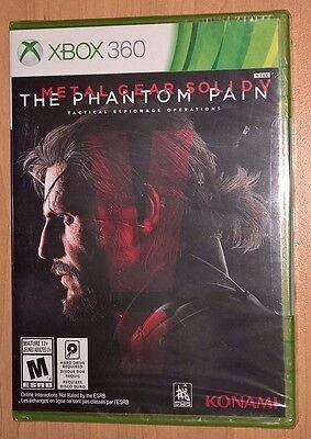 Metal Gear Solid V: The Phantom Pain (Xbox 360) NEW SEALED - Konami Video Game