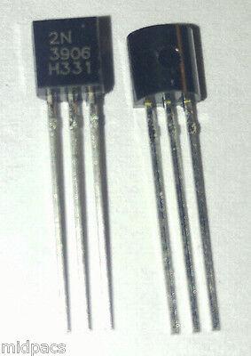 20pcs 2n3906 General Pnp Transistor To-92 - Us Shipped Wtracking