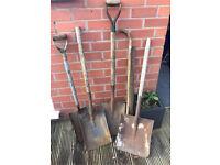Vintage shovels
