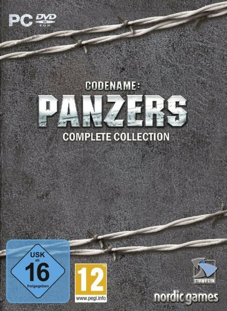 Codename : Panzers - Complete Collection - PC / Windows - DVD ROM - Neu Ovp