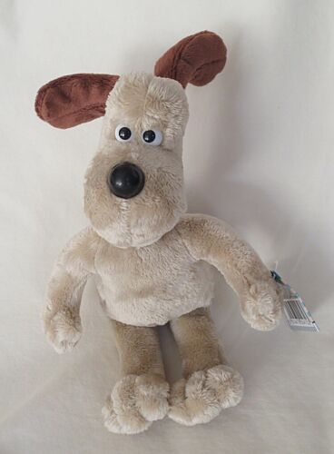 Aardman Rainbow Designs Wallace & Gromit 8-inch Gromit Plush Toy-NWT