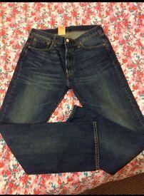 Levi men's 501 jeans