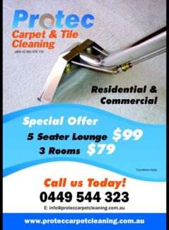 Protec carpet & tile cleaning Sydney Region Preview