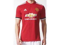 Genuine Manchester United 2017/18 Home Shirt - Men's XL printed with #22 Mkhitaryan