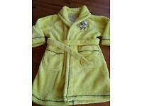 Sponge bob dressing gown