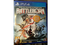 PS4 GAME BATTLEBORN BOXED BRAND NEW SEALED ONLY 10 POUNDS