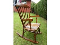 Beautiful child's rocking chair,