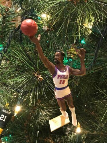 WILT CHAMBERLAIN CHRISTMAS TREE ORNAMENT PHILADELPHIA 76ers sixers
