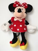 Disney Store Minnie Mouse Plush