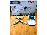 FX 15 Quadcopter Drone with Live Camera FPV