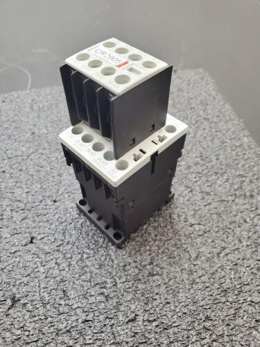 Siemens 3RH1271-1BB40 3PH Control Contactor Relay 24V DC Coil Size S00 DIN Rail