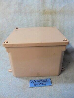 Carlon E987r Weatherproof 6 X 6 X 4 Non Metallic Junction Box