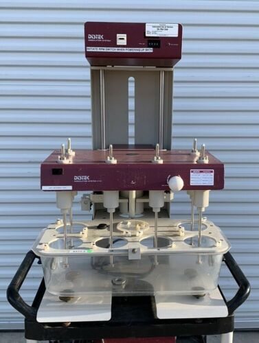 Distec Dissolution System 2100 with TCS 0200c heater