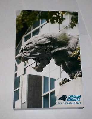 2017 Carolina Panthers Media Guide    Limited   Rare