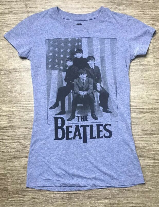The Beatles 2012 apple corps graphic T-shirt size woman