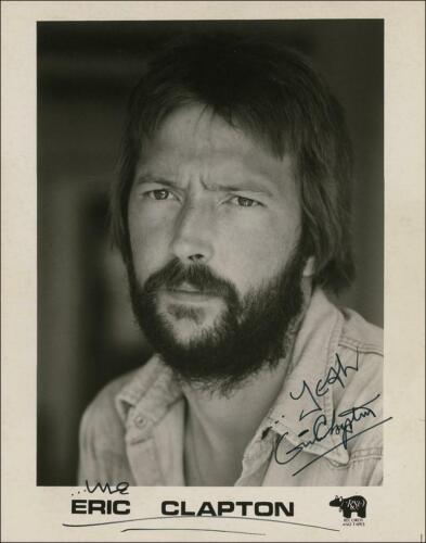 Eric Clapton w/reproduction signature archival quality,  002